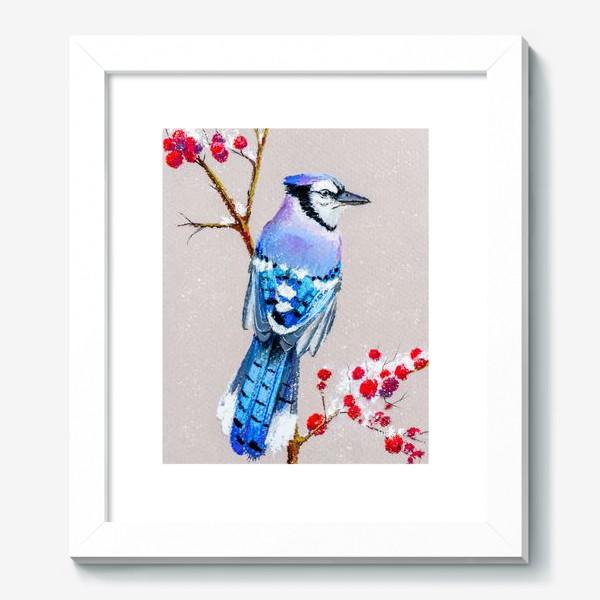Картина «Голубая сойка»