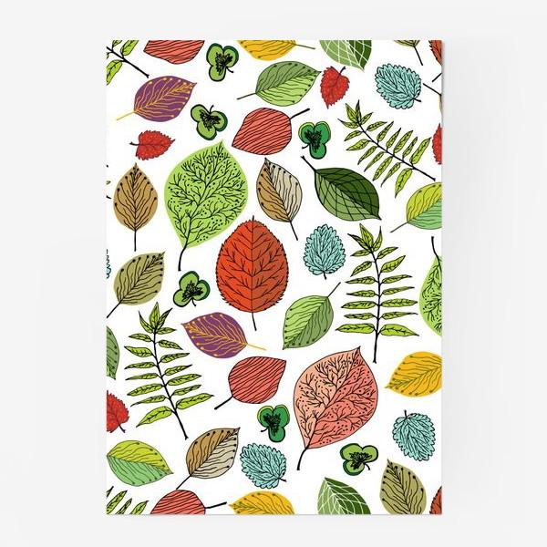 """Постер «Узор """"Осенние листья""""»"""