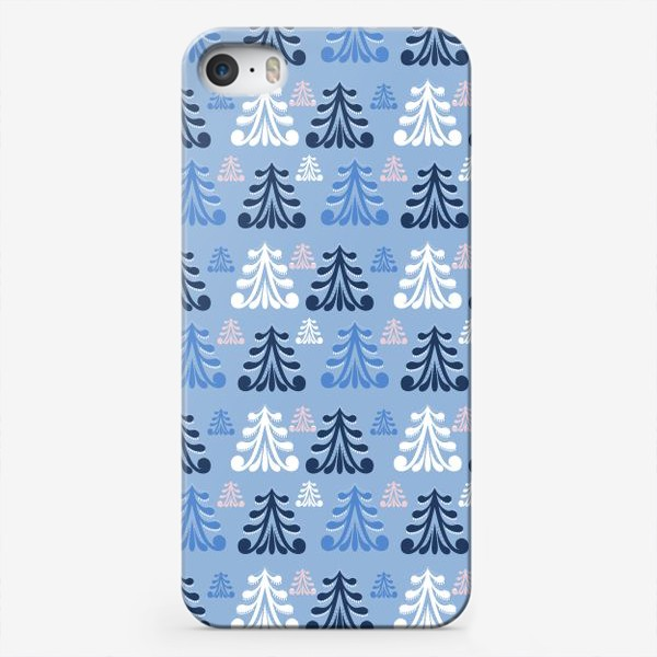 Чехол iPhone «Winter forest»