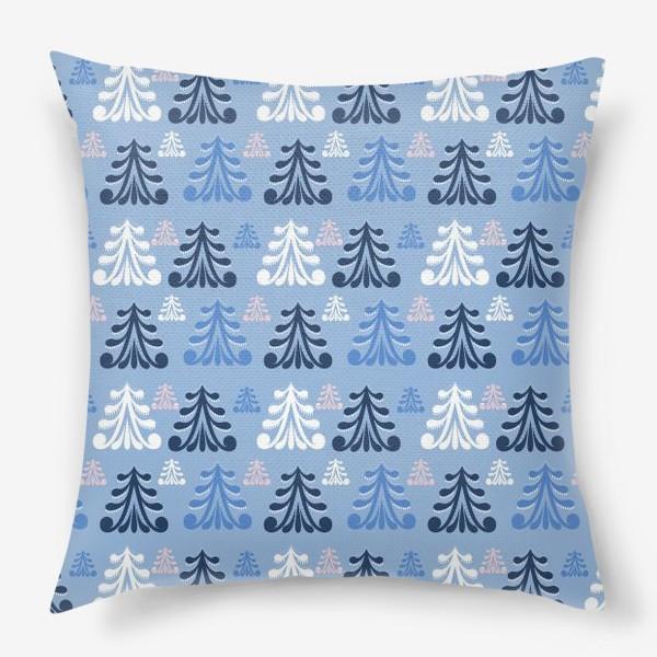 Подушка «Winter forest»