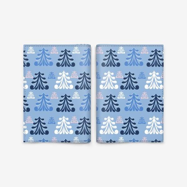 Обложка для паспорта «Winter forest»