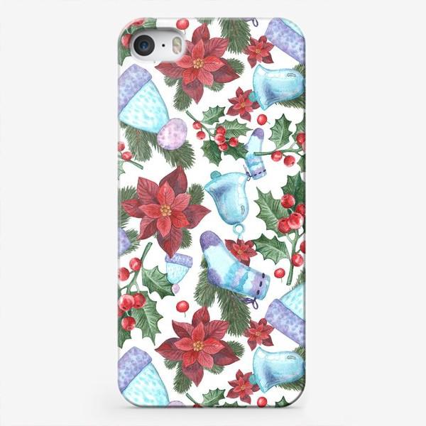 Чехол iPhone «Рождественское морозное утро»
