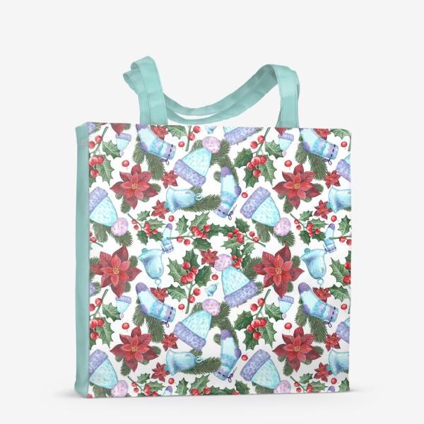 Сумка-шоппер «Рождественское морозное утро»