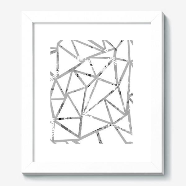 Картина «Всё косенко в белом»