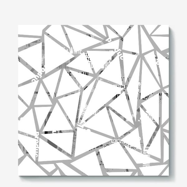 Холст «Всё косенко в белом»