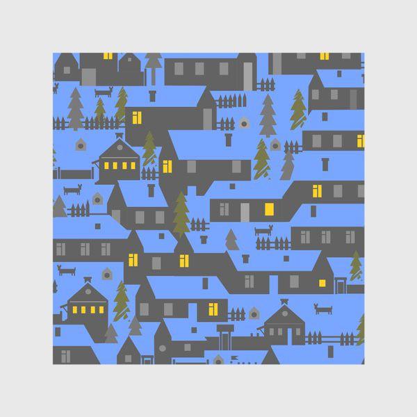 Скатерть «Зимняя деревенька»