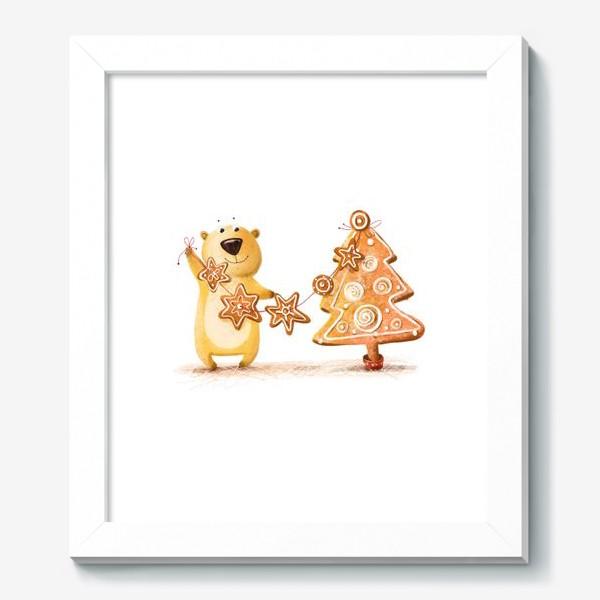 Картина «Мищка с имбирными печеньями»