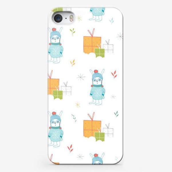 Чехол iPhone «Подарочный паттерн»