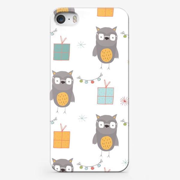 Чехол iPhone «Совушки»