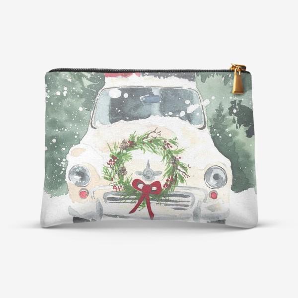 Косметичка «Машина с подарками»