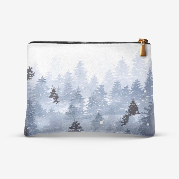 Косметичка «Зимний лес»