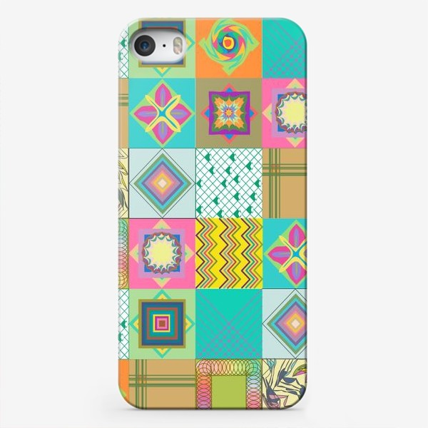 Чехол iPhone «Нежный пэчворк»