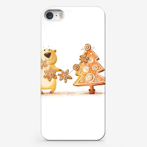 Чехол iPhone «Мищка с имбирными печеньями»