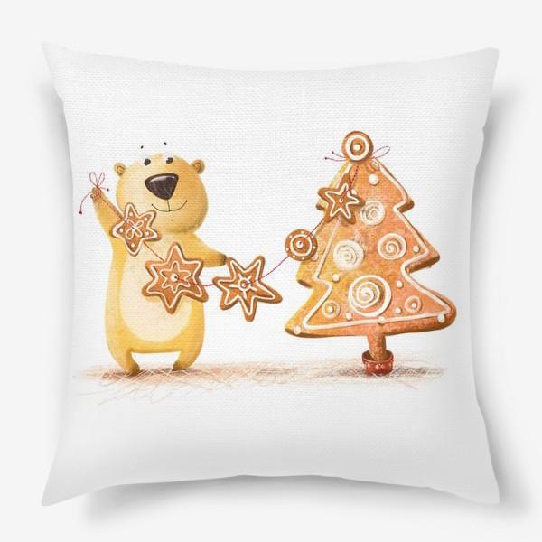 Подушка «Мищка с имбирными печеньями»