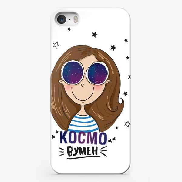 Чехол iPhone «cosmo woman - космо женщина»