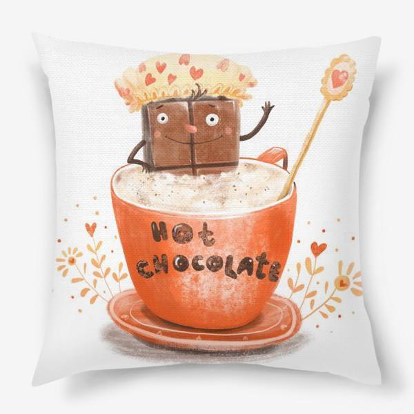 Подушка «Горячий шоколад»