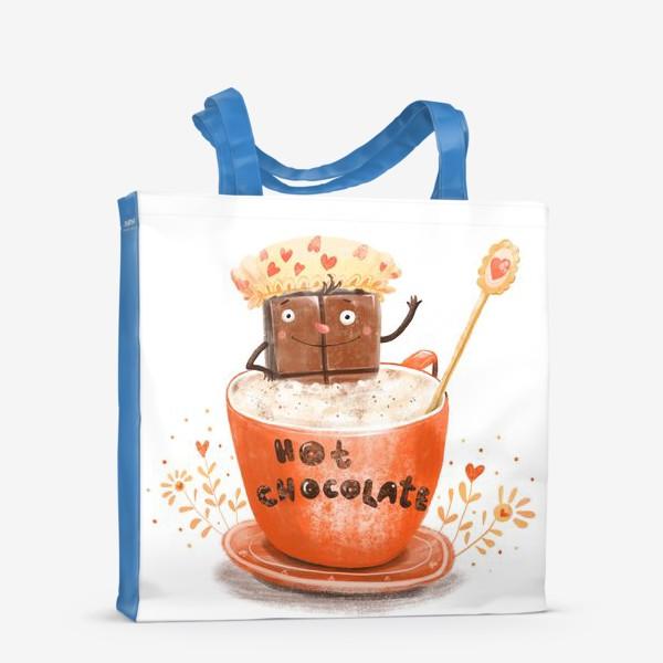 Сумка-шоппер «Горячий шоколад»
