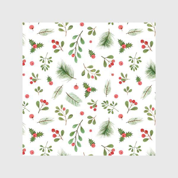 Скатерть «Рождественский паттерн. Christmas pattern»