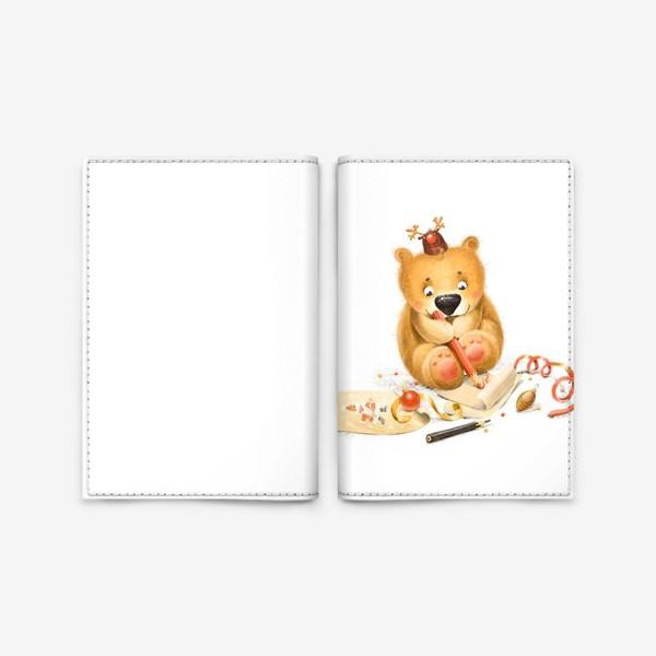 Обложка для паспорта «Письмо Дедушке Морозу»