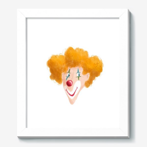 Картина «Веселый клоун»