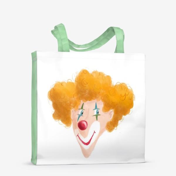 Сумка-шоппер «Веселый клоун»