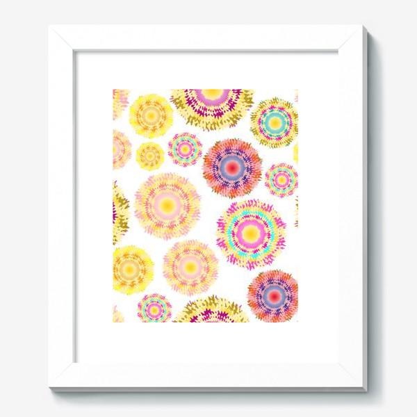 Картина «Разноцветные абстрактные круги 2»