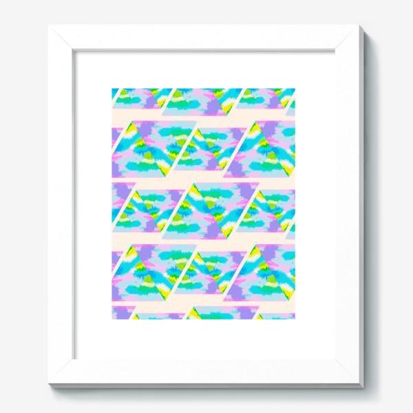 Картина «Акварельная геометрия»
