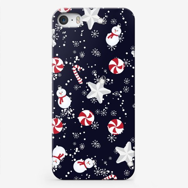 Чехол iPhone «рождественский»