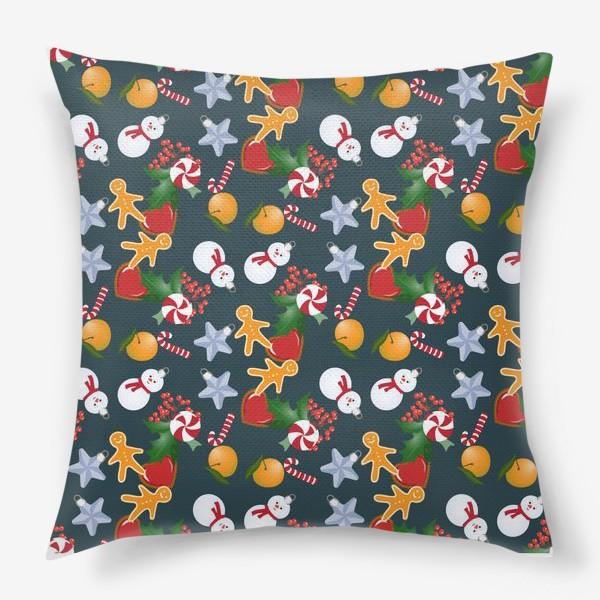 Подушка «рождественский»