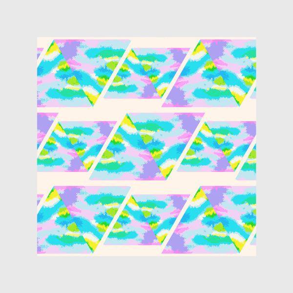 Скатерть «Акварельная геометрия»