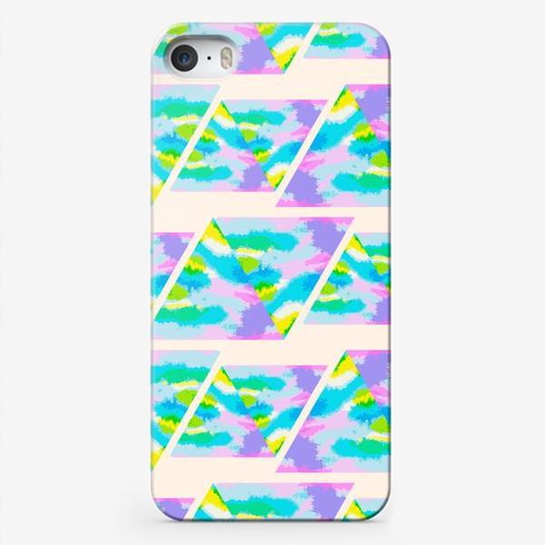 Чехол iPhone «Акварельная геометрия»
