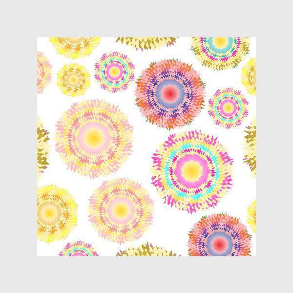 Скатерть «Разноцветные абстрактные круги 2»