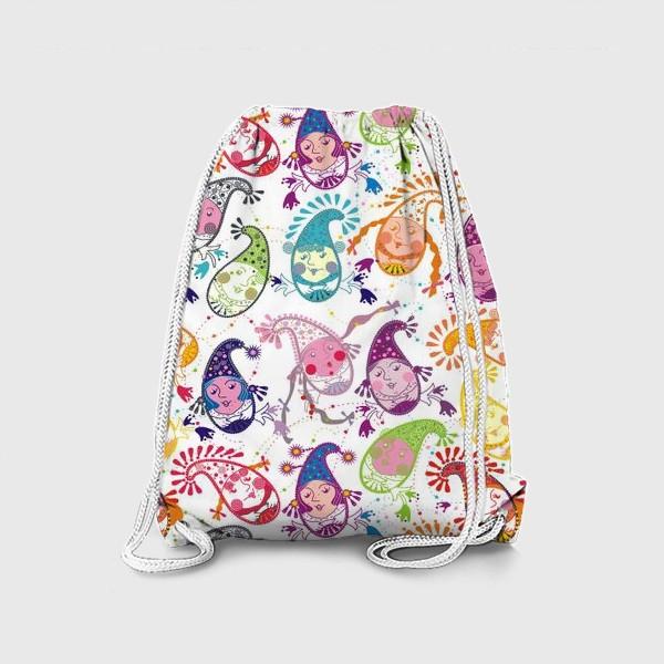 Рюкзак «Праздничные гномики»