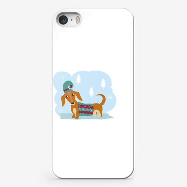 Чехол iPhone «Такса»