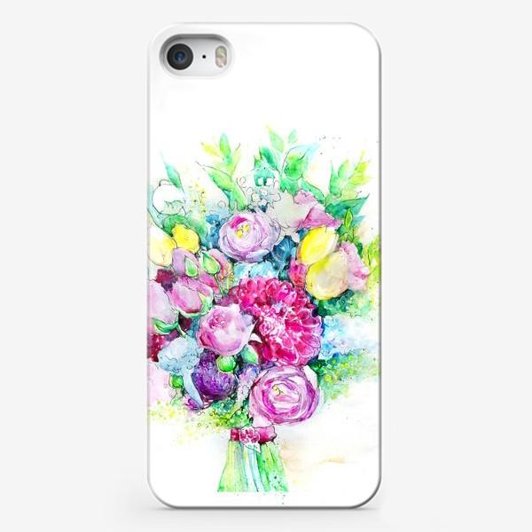 Чехол iPhone «Солнечный букет»