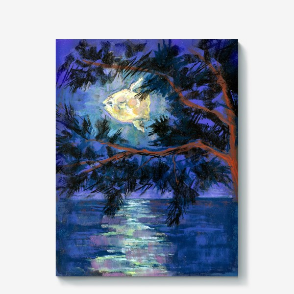 Холст «Рыба-луна»