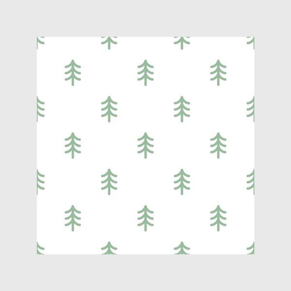 Скатерть «Паттерн с минималистичными ёлочками»