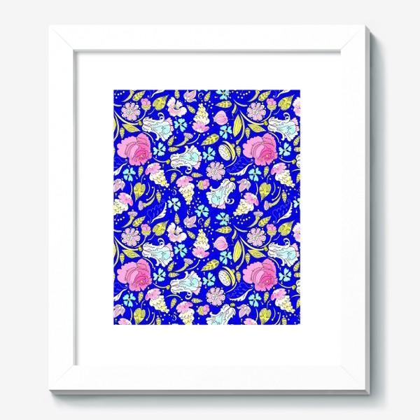 Картина «Пышные цветы»