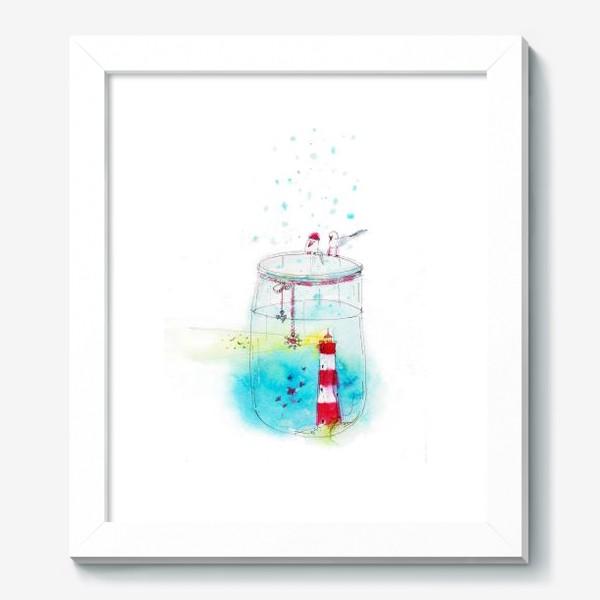 Картина «Маяк в баночке»