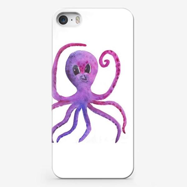 Чехол iPhone «осьминог»