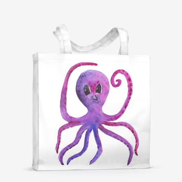 Сумка-шоппер «осьминог»