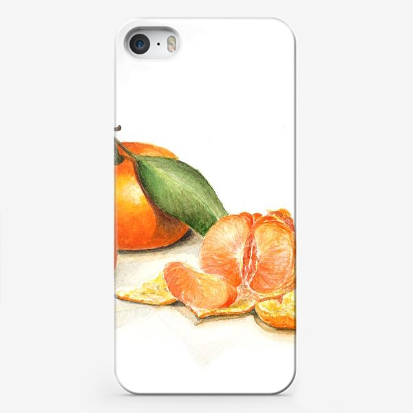 Чехол iPhone «Сочные мандарины»