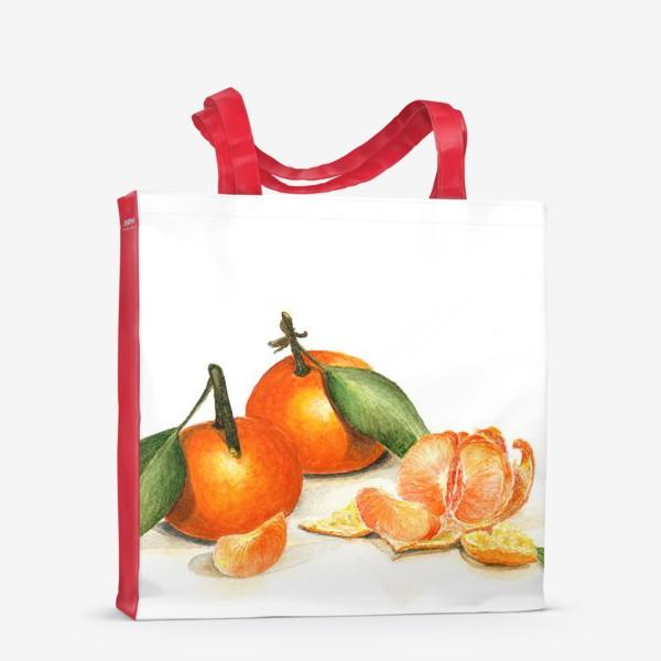 Сумка-шоппер «Сочные мандарины»