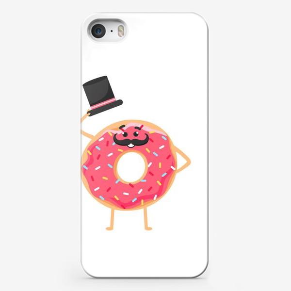 Чехол iPhone «Мистер Пончик»