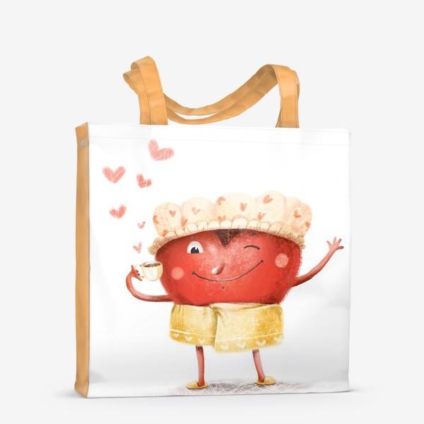 Сумка-шоппер «Горячее сердце»