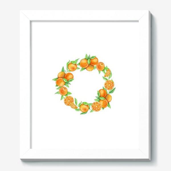 Картина «Апельсиновый венок»