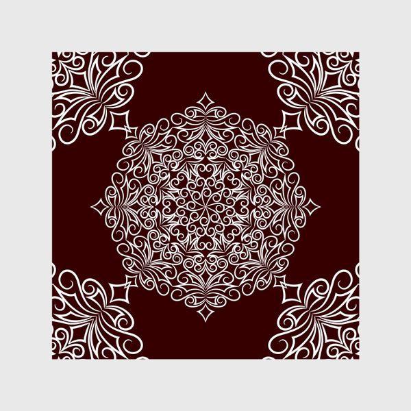 Шторы «Узор с круговым орнаментом»