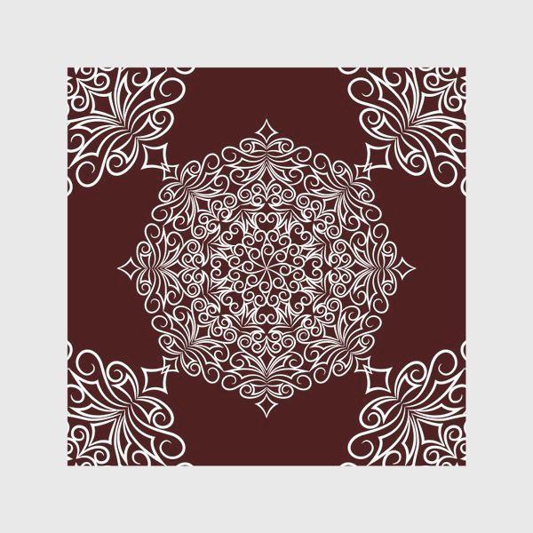 Скатерть «Узор с круговым орнаментом»