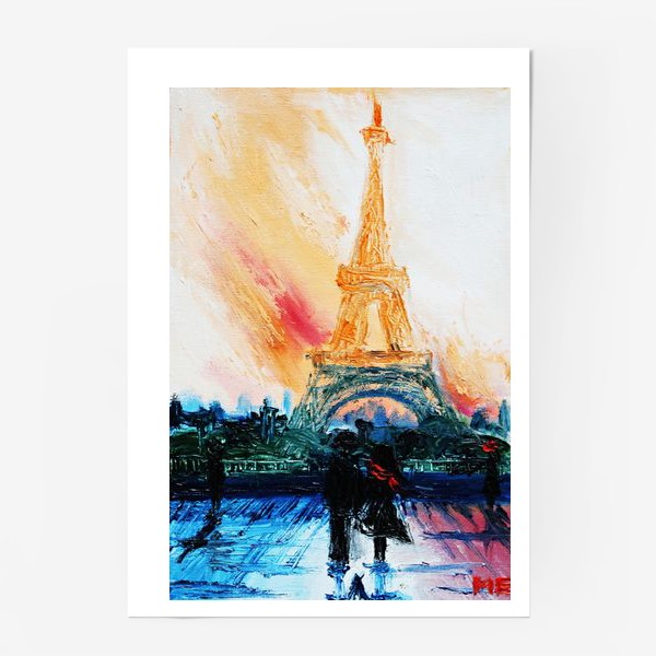Постер «Утренний Париж»