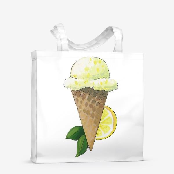Сумка-шоппер «Лимонное Мороженое»